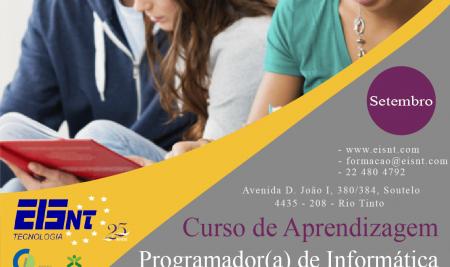 Curso de Aprendizagem a iniciar em Setembro 2018